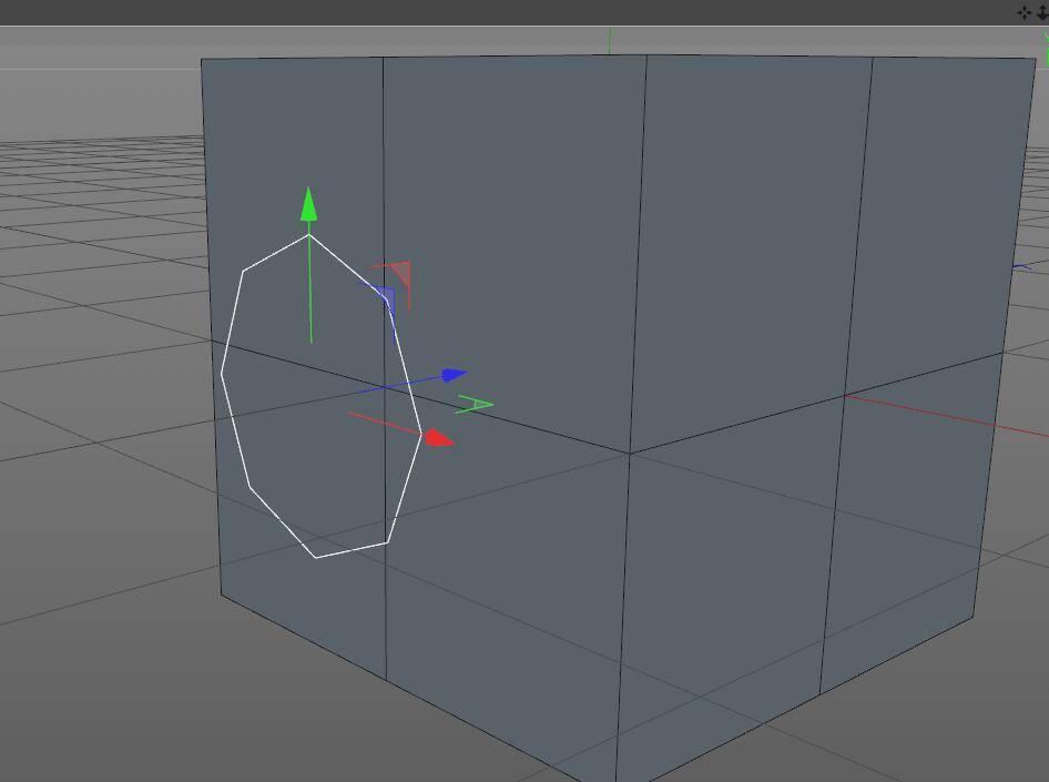 CINEMA 4D入门 (3):C4D细分曲面 建模  开孔洞技巧 之一 - R站|学习使我快乐! - 2