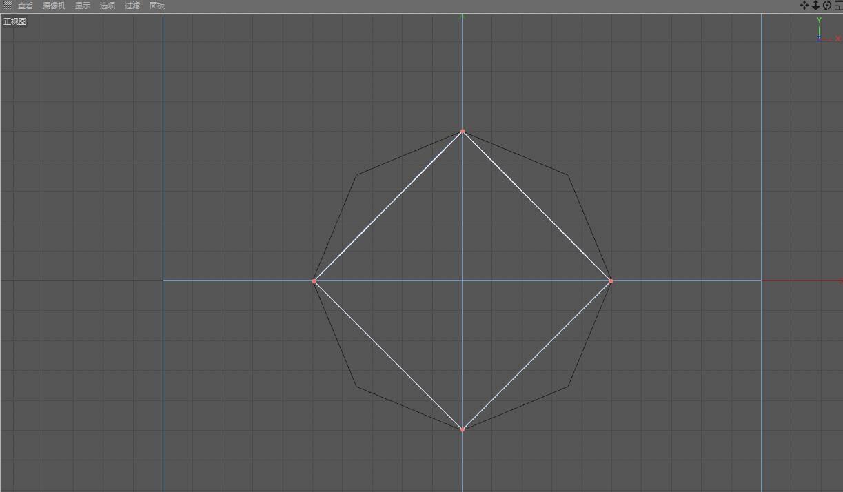 CINEMA 4D入门 (3):C4D细分曲面 建模  开孔洞技巧 之一 - R站|学习使我快乐! - 3