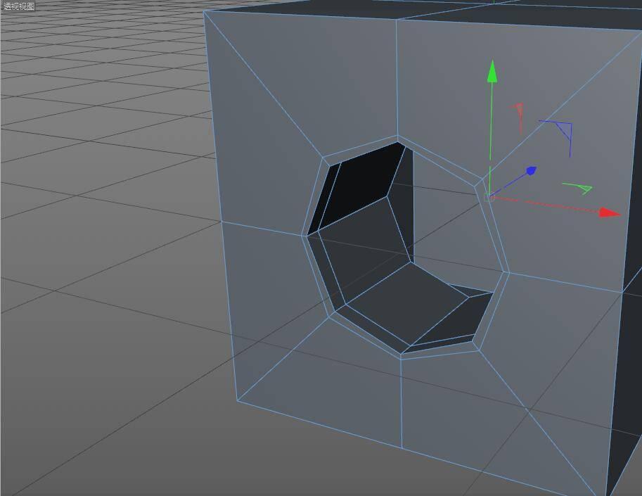 CINEMA 4D入门 (3):C4D细分曲面 建模  开孔洞技巧 之一 - R站|学习使我快乐! - 6