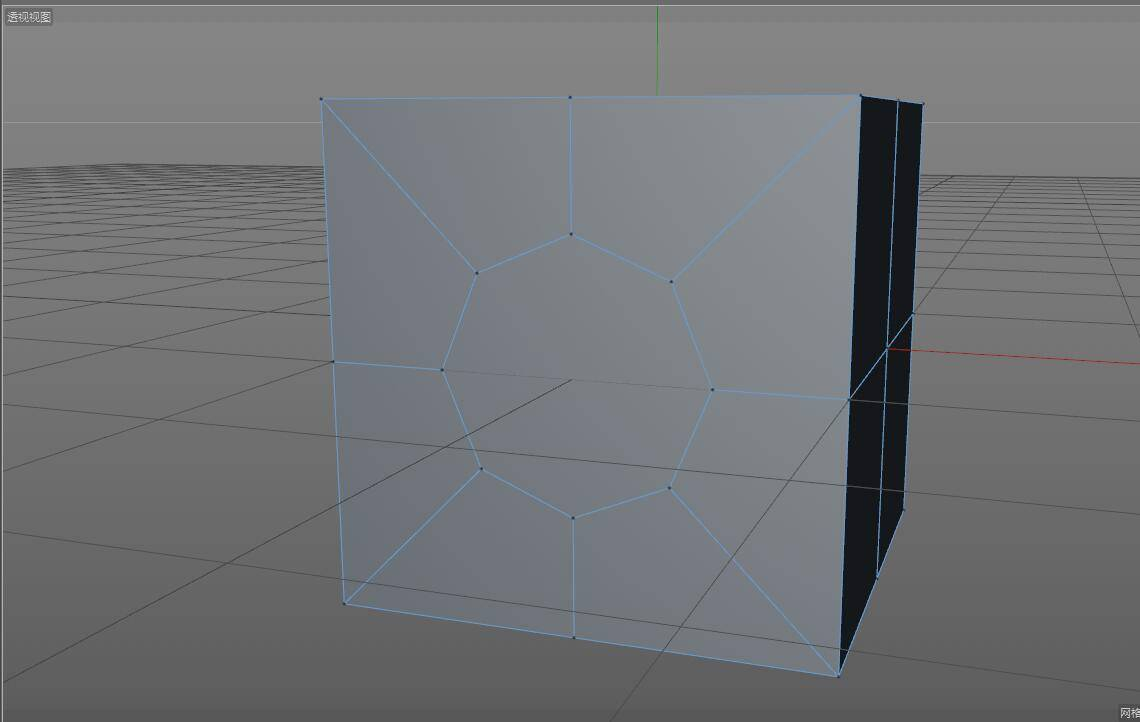 CINEMA 4D入门 (4):C4D细分曲面 建模  开孔洞技巧 之二 - R站|学习使我快乐! - 4