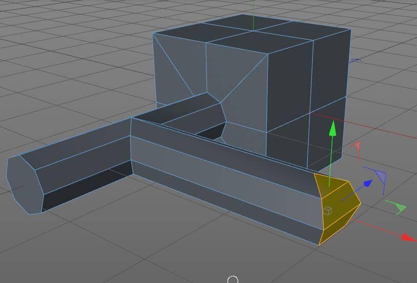 CINEMA 4D入门 (5):C4D细分曲面 建模 开孔洞技巧 之三 - R站|学习使我快乐! - 3