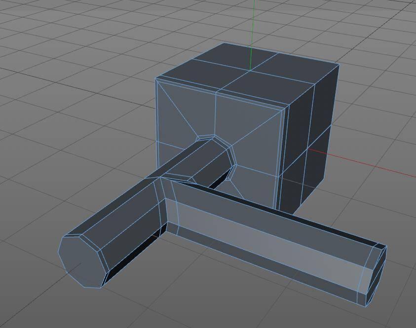 CINEMA 4D入门 (5):C4D细分曲面 建模 开孔洞技巧 之三 - R站|学习使我快乐! - 10