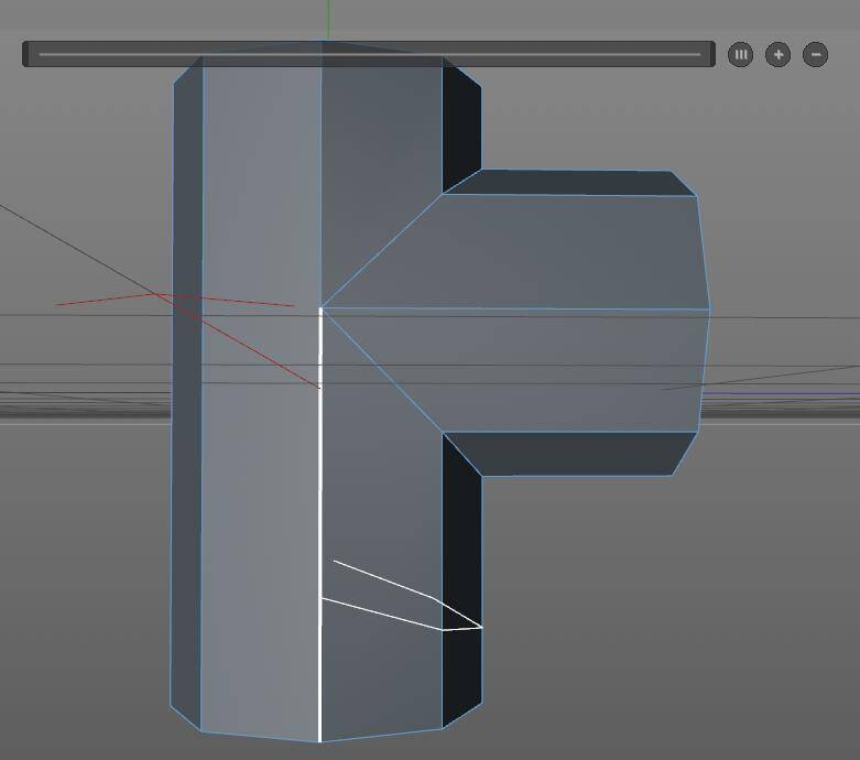 CINEMA 4D入门 (6):C4D细分曲面 建模 Slide滑动工具妙用 - R站|学习使我快乐! - 1