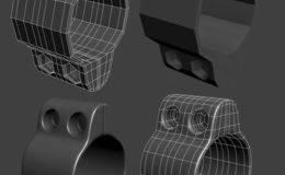 CINEMA 4D入门 (13):干货 C4D 细分曲面 硬表面建模的布线技巧(2)