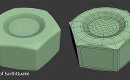 CINEMA 4D入门 (14):干货 C4D 细分曲面 硬表面建模的布线技巧(3)