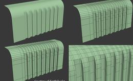 CINEMA 4D入门 (15):干货 C4D 细分曲面 硬表面建模的布线技巧(4)