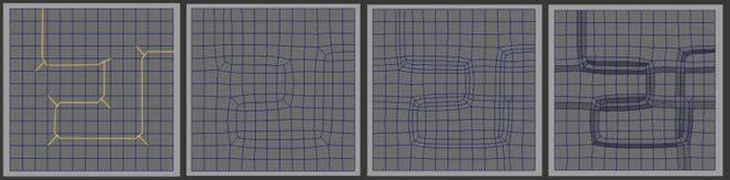 CINEMA 4D入门 (18):干货 C4D 细分曲面 硬表面建模 走线的一些方法总结! - R站|学习使我快乐! - 4