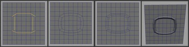 CINEMA 4D入门 (18):干货 C4D 细分曲面 硬表面建模 走线的一些方法总结! - R站|学习使我快乐! - 6