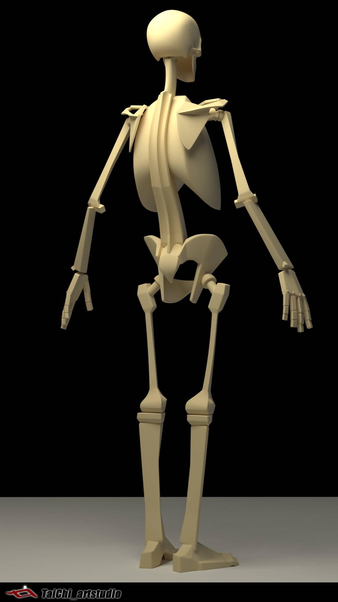 非常不错的人体分面图,美术练习的好东西! - R站|学习使我快乐! - 14