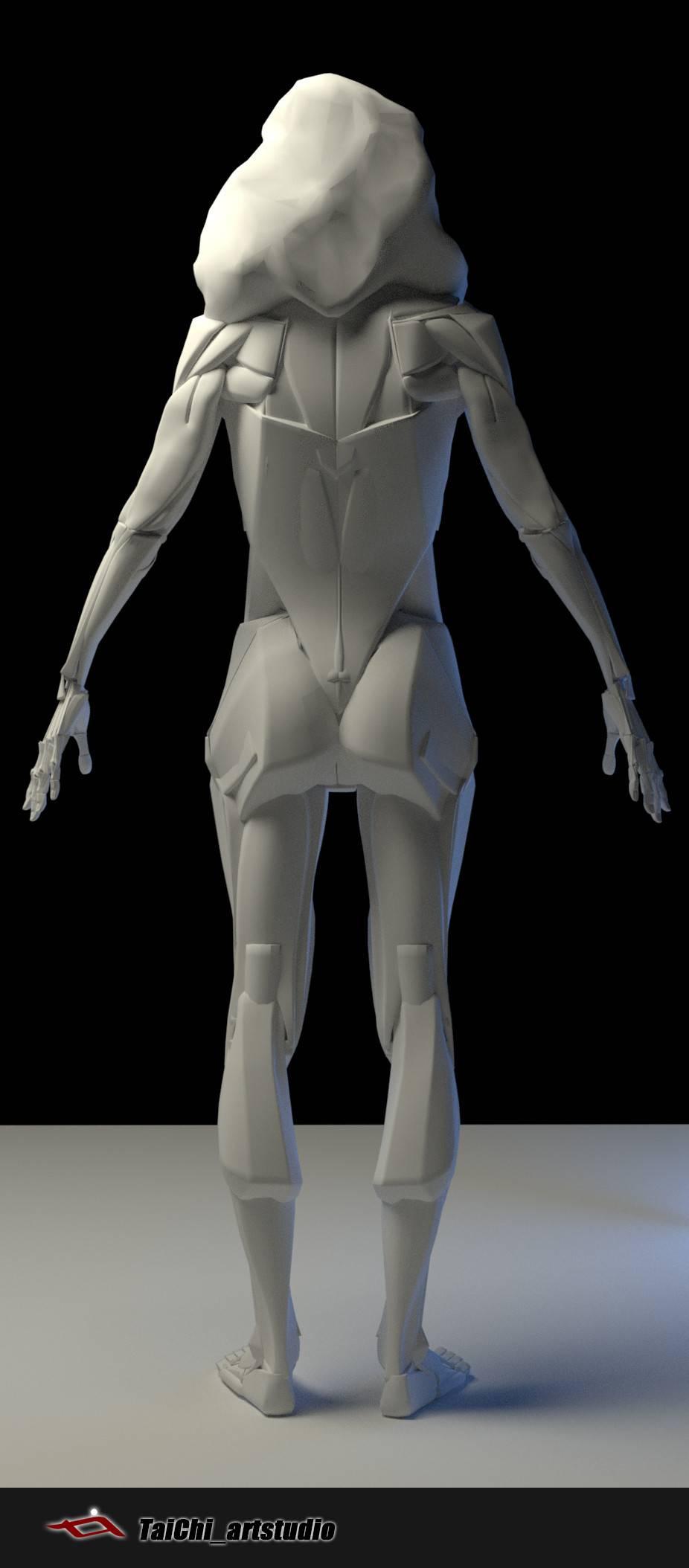 非常不错的人体分面图,美术练习的好东西! - R 站 学习使我快乐! - 19