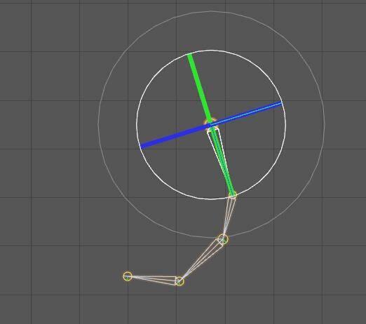 CINEMA 4D入门 (27):C4D 骨骼之FK绑定(正向运动)目标驱动 - R站|学习使我快乐! - 1