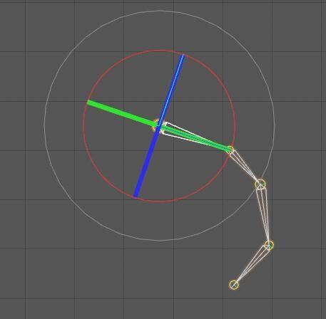CINEMA 4D入门 (27):C4D 骨骼之FK绑定(正向运动)目标驱动 - R站|学习使我快乐! - 3