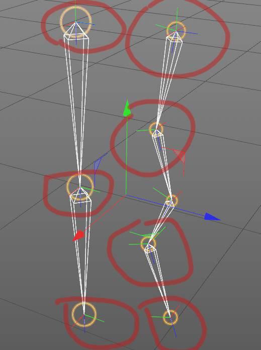 CINEMA 4D入门 (31):C4D 骨骼绑定 之 Z轴对齐 - R站|学习使我快乐! - 1