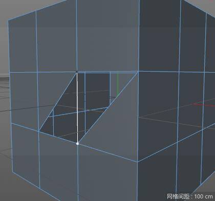 CINEMA 4D 入门 (34):C4D 基础 硬表面建模之 Points – Edges – Ploygons(点、线、面) 的基础 - 2  三边形&四边形 - R 站|学习使我快乐! - 2