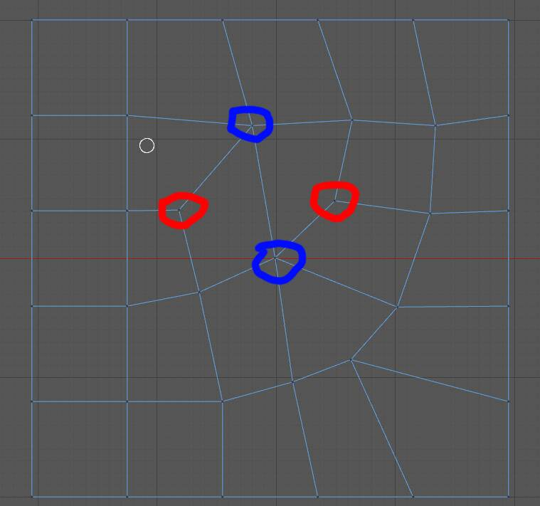 CINEMA 4D 入门 (35):C4D 基础 硬表面建模之 Points – Edges – Ploygons(点、线、面) 的基础 – 3 极点与布线 - R 站|学习使我快乐! - 3