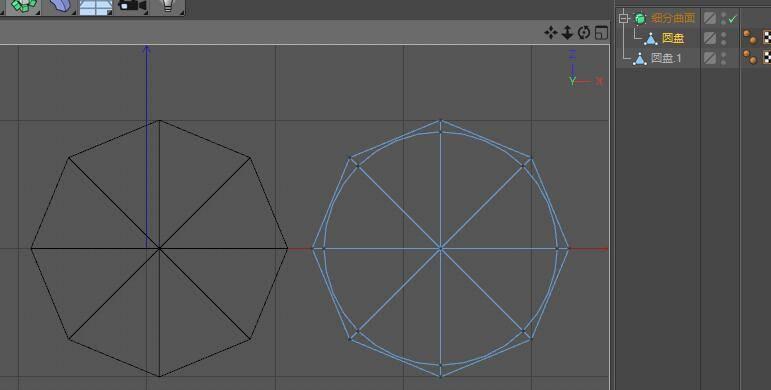 CINEMA 4D入门 (36):C4D基础 硬表面建模之 Subdivision细分曲面 - R站|学习使我快乐! - 1