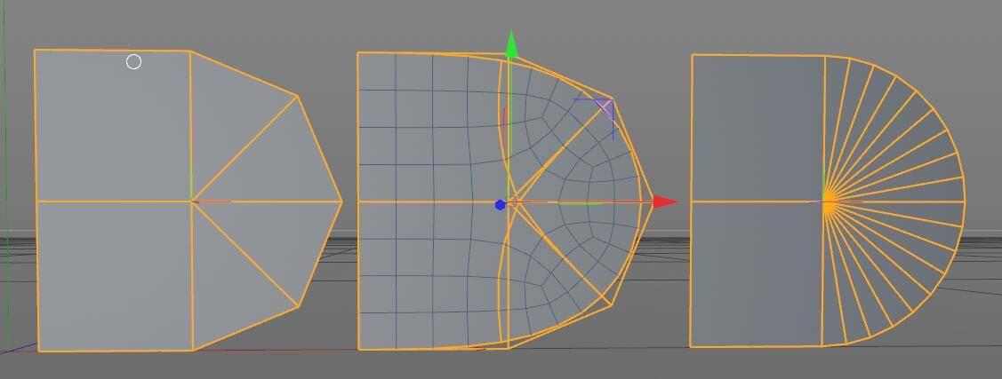CINEMA 4D入门 (36):C4D基础 硬表面建模之 Subdivision细分曲面 - R站|学习使我快乐! - 2