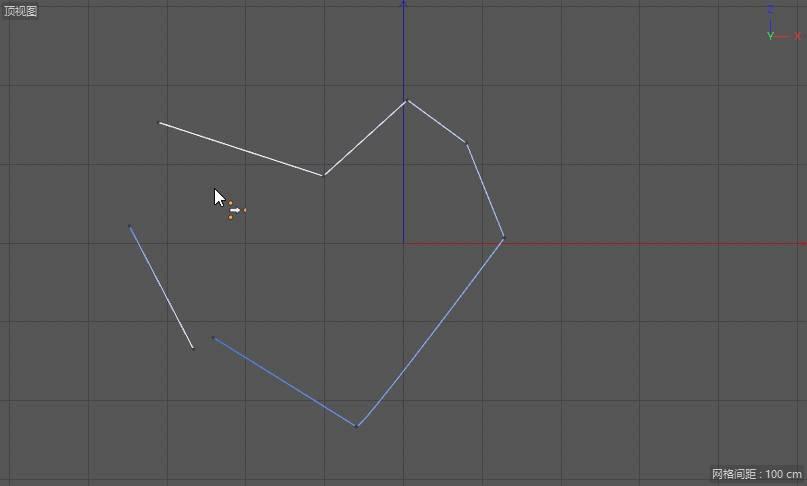 CINEMA 4D入门 (52):C4D 画笔样条spline 使用技巧(2) 闭合、断开、合并、焊接样条 - R站|学习使我快乐! - 10