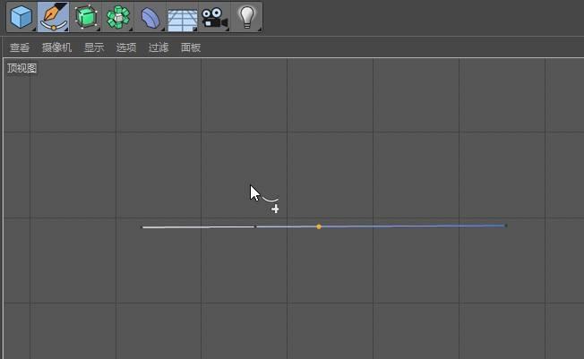 CINEMA 4D入门 (57):C4D 画笔样条spline 使用技巧(7) 添加点/删除点 - R站|学习使我快乐! - 3