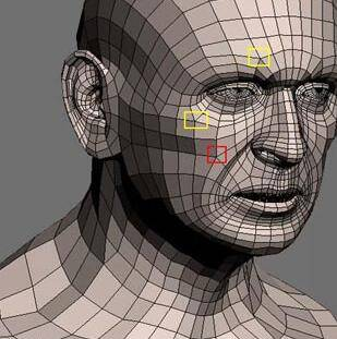 实用:人体3D模型 - 王康慧模型布线理论 - 2(布线的各种方法及特点) 转载 - R站|学习使我快乐! - 8