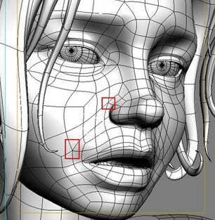 实用:人体3D模型 - 王康慧模型布线理论 - 2(布线的各种方法及特点) 转载 - R站|学习使我快乐! - 9
