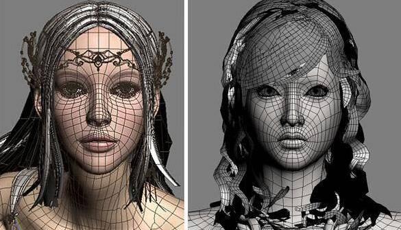 实用:人体3D模型 - 王康慧模型布线理论 - 3(具体模型布线实例分析) 转载 - R站 学习使我快乐! - 1