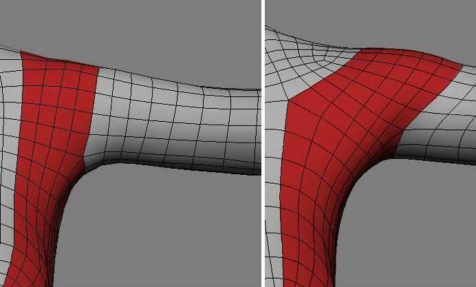 实用:人体3D模型 - 王康慧模型布线理论 - 3(具体模型布线实例分析) 转载 - R站|学习使我快乐! - 7