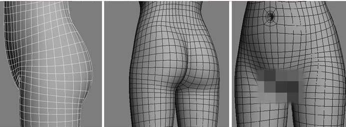 实用:人体3D模型 - 王康慧模型布线理论 - 3(具体模型布线实例分析) 转载 - R站 学习使我快乐! - 8