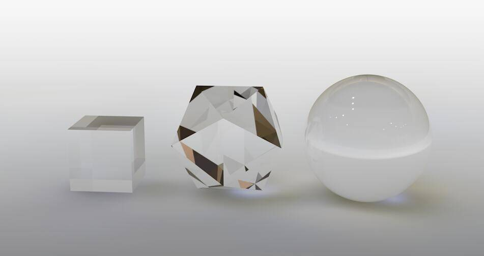 CINEMA 4D入门 (84):C4D渲染基础2 - 透明玻璃材质 - R站|学习使我快乐! - 7