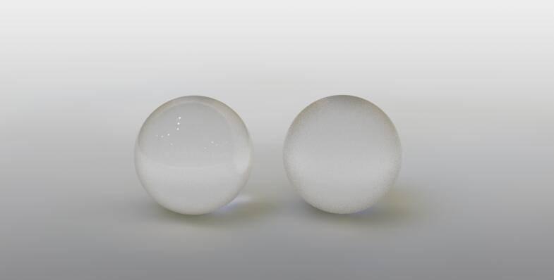 CINEMA 4D入门 (85):C4D渲染基础4 – 毛玻璃材质 - R站|学习使我快乐! - 5
