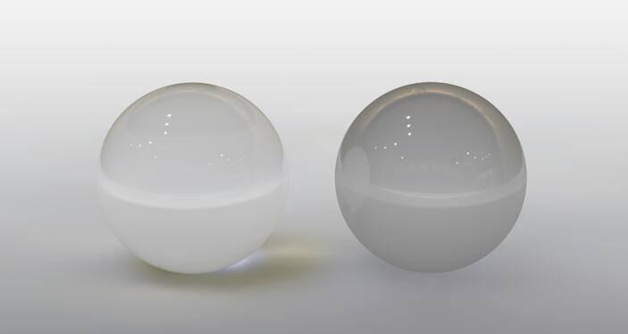CINEMA 4D入门 (87):C4D渲染基础6 – C4D预设材质 BANJI玻璃 - R站 学习使我快乐! - 3