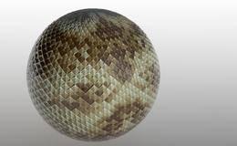 CINEMA 4D入门 (95):C4D渲染基础14 – C4D凹凸贴图材质(砖石、地面、皮革、木地板)