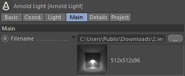 Arnold(C4DToA)阿诺德渲染教程(3) - Lights 灯光(圆柱光、平行光、IES光、点光) - R站|学习使我快乐! - 3