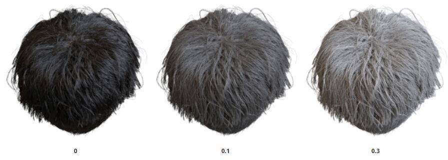 Arnold(C4DToA)阿诺德渲染教程(21) – 标准毛发材质 standard_hair - R站|学习使我快乐! - 9