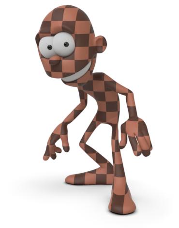 Arnold(C4DToA)阿诺德渲染教程(25) – 棋盘格贴图节点 checkerboard - R站|学习使我快乐! - 1