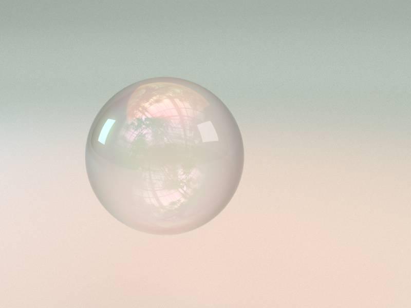 Arnold(C4DToA)阿诺德渲染教程(44) – 五彩斑斓的透明肥皂泡泡 - R站|学习使我快乐! - 1
