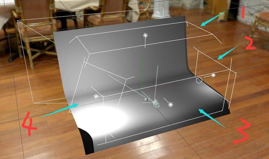 Arnold(C4DToA)阿诺德渲染教程(46) – 高反射金属材质与场景灯光的交互 - R站|学习使我快乐! - 3