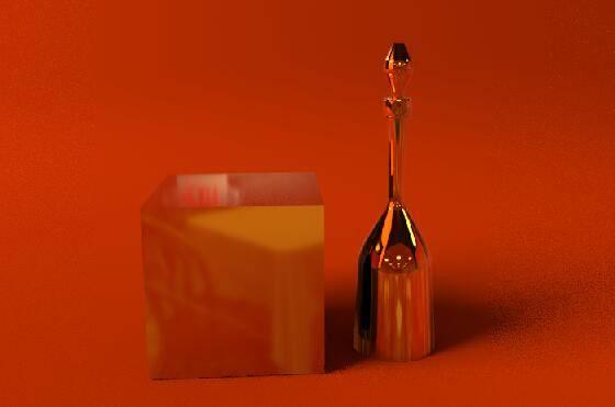 Arnold(C4DToA)阿诺德渲染教程(46) – 高反射金属材质与场景灯光的交互 - R站|学习使我快乐! - 9