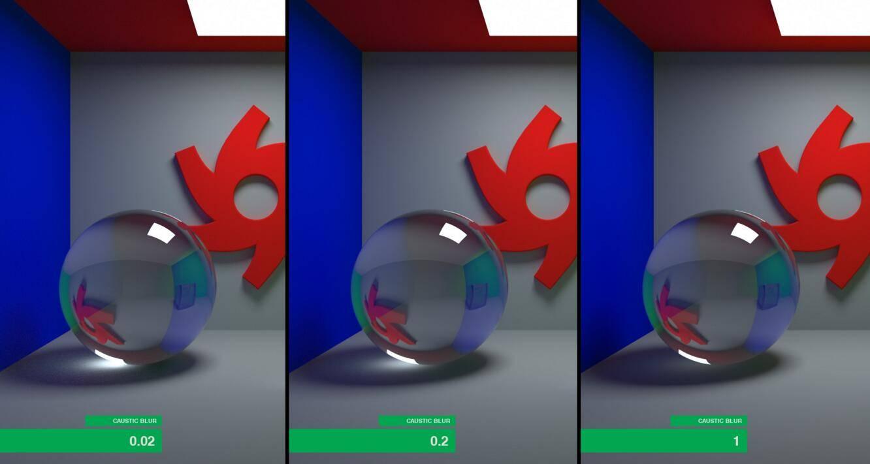 OctaneRender 渲染器入门教程(5):Kernels 核心 – 设置参数与渲染效果参考 - R 站|学习使我快乐! - 10