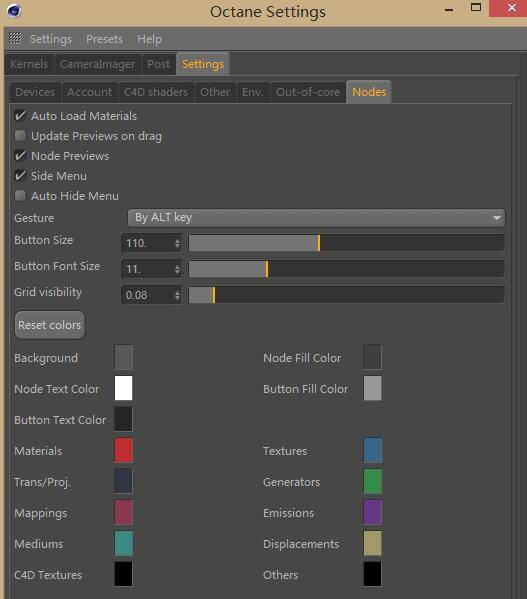 OctaneRender 渲染器入门教程(9):设置 – Other Settings 其他设置 - R 站|学习使我快乐! - 6