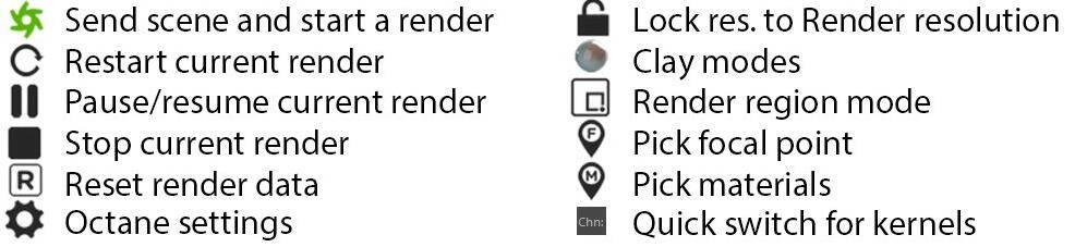 OctaneRender渲染器入门教程(10):实时预览窗口 Live Viewer 功能大全 使用介绍 - R站|学习使我快乐! - 2