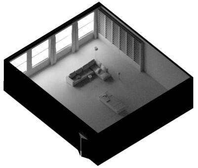 Arnold(C4DToA)阿诺德渲染教程(86) – 室内照明技术 – 自发光几何体 - R站|学习使我快乐! - 2