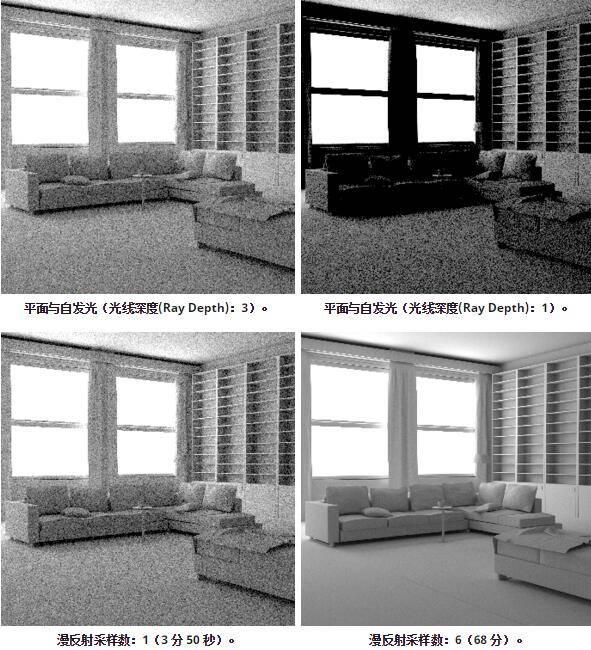 Arnold(C4DToA)阿诺德渲染教程(86) – 室内照明技术 – 自发光几何体 - R站|学习使我快乐! - 4