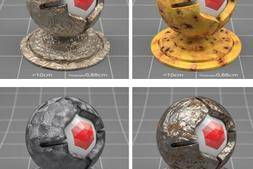 Redshift渲染器预设材质库合集(135组) The Pixel Lab – Redshift for C4D Material Pack