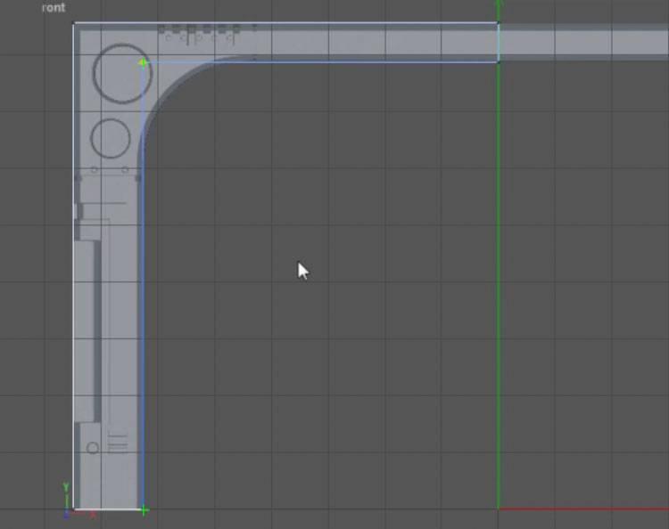 穆他的逆袭之旅—硬表面细分曲面建模实例—科幻门建模 - R站|学习使我快乐! - 2