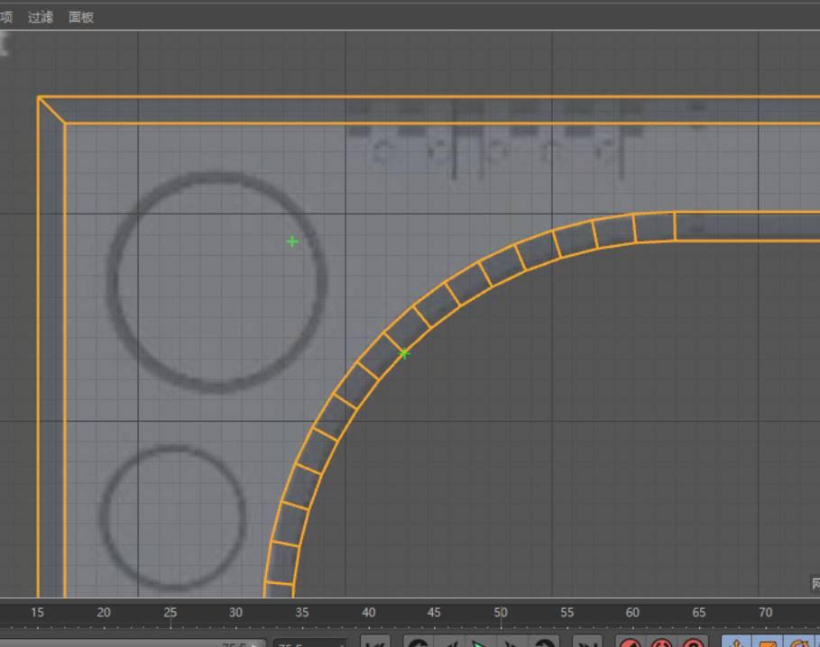 穆他的逆袭之旅—硬表面细分曲面建模实例—科幻门建模 - R站|学习使我快乐! - 8