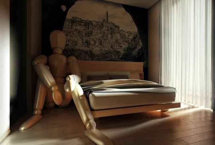 Vittorio Lippolis创意作品:简单的C4D人偶模型,也能演绎动人的作品! - R站|学习使我快乐! - 17