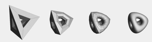 平滑细分曲面宝典 之 Pixar 皮克斯开源图形技术 OpenSubdiv – Subdivision Surfaces - R站|学习使我快乐! - 2