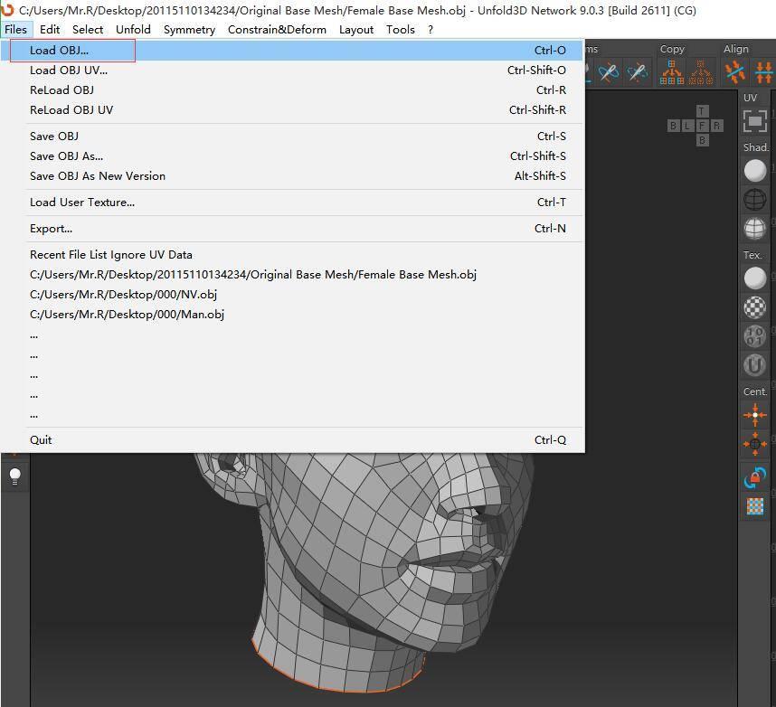 C4D展UV利器:UnFold3D使用教程(1),超高效率的技法,分分钟搞定UV的问题! - R站|学习使我快乐! - 2