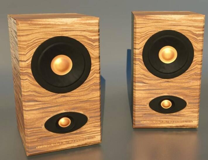 第001期 - C4D《每周一模》建模作业 - 来建个木制桌面音响吧~ 【附作品】NO1:熙浩 - R站|学习使我快乐! - 6
